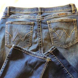 Ladies Size 13/14 Q-Baby Wrangler jeans